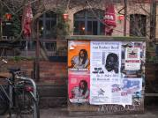 Poster for the Rodney Rally in Berlin on March 1st. From Texas to Berlin: Free Mumia and Free Rodney Reed!