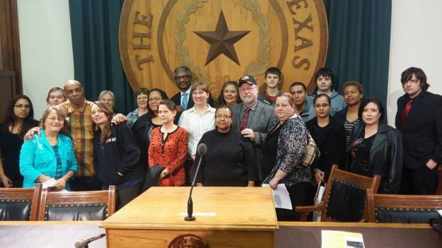 "Organized by the Texas Moratorium Network, the ""Day of Innocence"" brought together exonerated death row prisoners, Rep. Harold Dutton, and friends and family members of men and women on Texas death row."