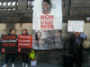 Supporters in Paris demand justice for Rodney and an end to all executions