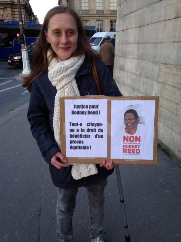 Supporter in Paris