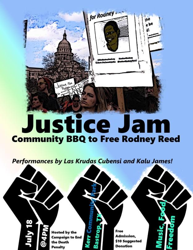 justice jam flyer