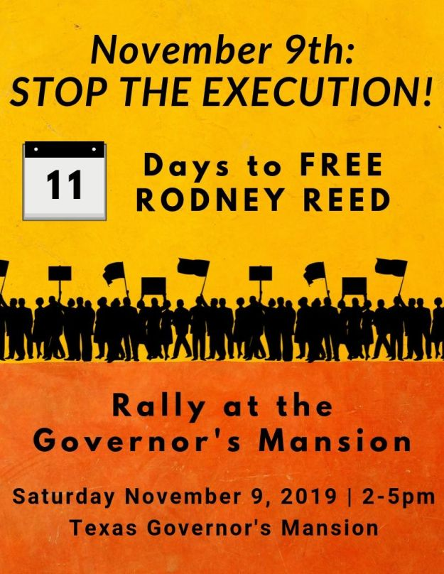 Upcoming Events Free Rodney Reed